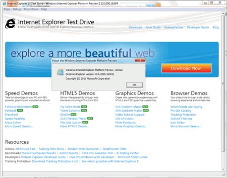 Не работает internet explorer 10 ответы