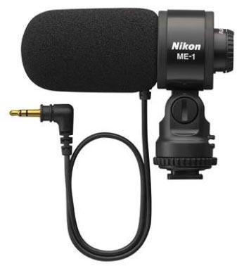 Внешний микрофон Nikon ME-1