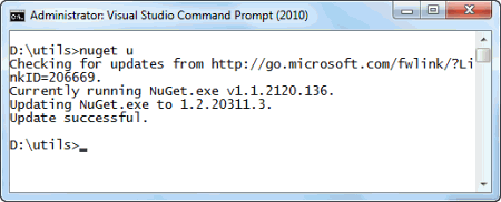 NuGet VS Interface