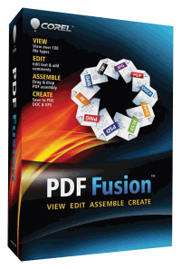 Corel PDF Fusion Box-art