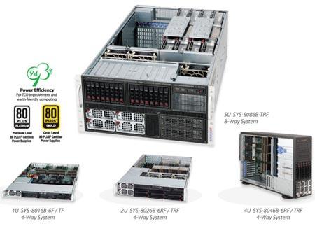 Серверы Supermicro, поддерживающие 10-ядерные процессоры Intel Xeon E7
