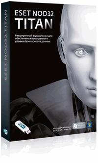 ESET NOD32 TITAN Box-art