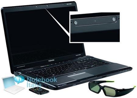 Экраны ноутбуков Toshiba 3D Satellite P770 и P775 поддерживают кадровую частоту 120 Гц