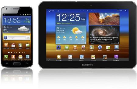 Samsung ���������� ������ GALAXY S II � GALAXY Tab 8.9 � ���������� LTE
