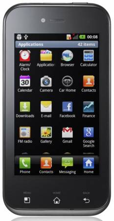 Смартфон LG Optimus Sol