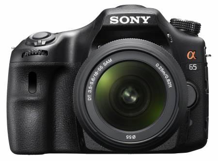 Зеркальная камера Sony SLT-A65