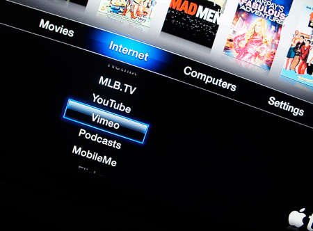 Vimeo на Apple TV