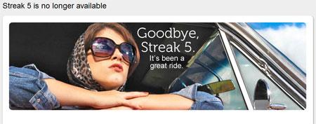 Dell ����� 5-�������� ������� Streak 5 � ������������
