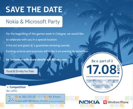 17 августа Nokia и Microsoft, вероятно, расскажут о совместном детище, известном пока под кодовым именем Sea Ray