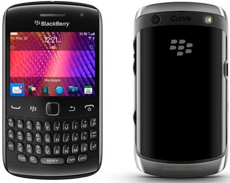 Blackberry Curve 9350, 9360 и 9370 обладают одинаковым дизайном
