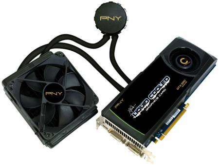 Видеокарты XLR8 Liquid Cooled GTX 580