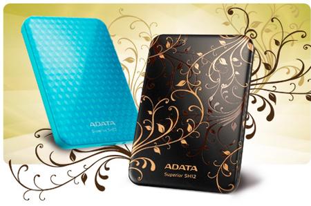 портативный жесткий диск ADATA SH12