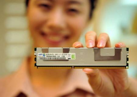 Модули памяти Samsung RDIMM DDR3 объёмом 32 ГБ