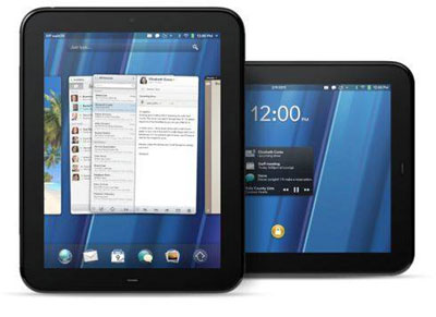 Продажи планшета HP TouchPad, работающего под управлением web OS, провалились