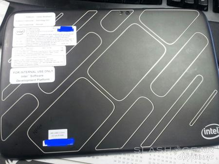 Планшет Intel на платформе Medfield