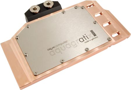 У Aqua Computer готов водоблок для Radeon HD 7970