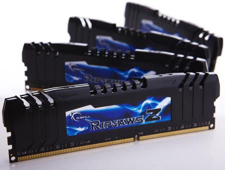 ����� ����������������� ������ ������� ������ G.Skill RipjawsZ DDR3-2400 ����� 64 ��