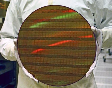 TSMC рассчитывает использовать 450-миллиметровые пластины в серийном производстве в 2015 году