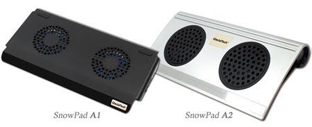 Охлаждающие подставки GlacialTech SnowPad A1 и A2