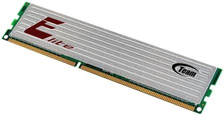 В серию Team Elite вошли модули DDR3 U-DIMM и SO-DIMM объемом 8 ГБ