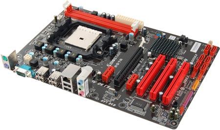 Системная плата BIOSTAR A57A типоразмера ATX предназначена для APU AMD в исполнении FM1