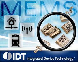 У IDT готов первый в мире коммерческий пьезоэлектрический генератор MEMS