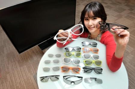 LG 3D-очки 2012