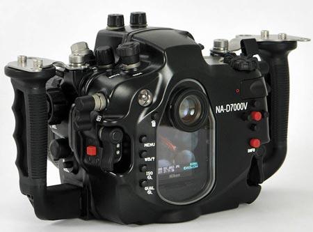 Nauticam NA-D7000V — обновленная версия подводного бокса для камеры Nikon D7000