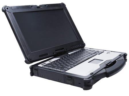 Трансформируемый ноутбук в защищенном исполнении GammaTech Durabook R13C имеет рейтинг IP65 и прошел тесты MIL-STD 810G