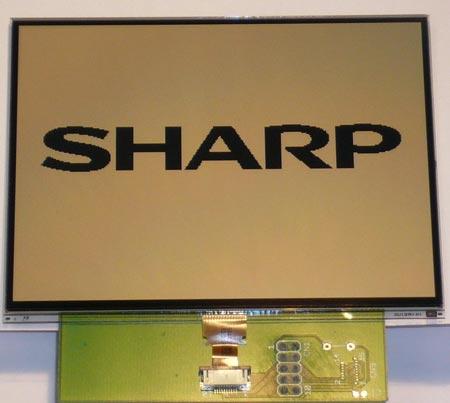 Компания Sharp расширяет линейку ЖК-дисплеев с памятью изображений