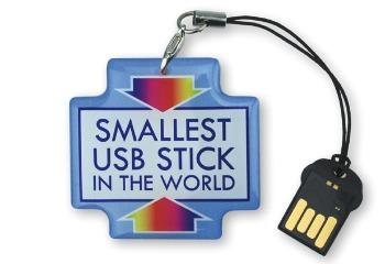 Компания Deonet анонсировала «самый маленький в мире» флэш-накопитель