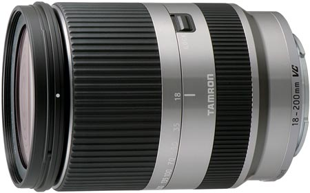 Объектив Tamron 18-200mm F/3.5-6.3 Di III VC предназначен для беззеркальных камер Sony