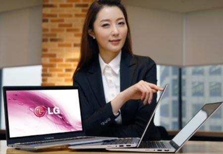 Ультрабук LG X-Note Z330 Ultrabook загружается за 10 секунд