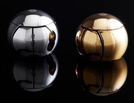 OreObject Sphere 2 — сферическая мышь с покрытием из драгметалла