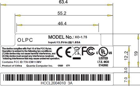 ������� ��������� OLPC XO-1.75