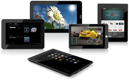 Coby анонсировала выпуск планшетов MID7042, MID8042, MID9042, MID9742 и MID1042 с ОС Android 4.0
