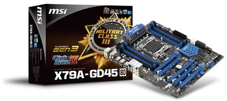 MSI X79A-GD45 (8D)