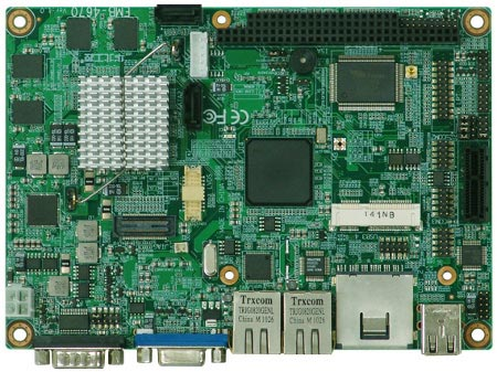 Процессор Intel Atom E620 с TDP 2,7 Вт стал основой одноплатного компьютера Norco EMB-4670