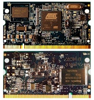 Ассортимент Ronetix пополнился пятью компьютерными модулями на базе Atmel AT91SAM9