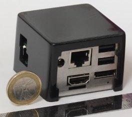 Мини-HTPC Solid-Run CuBox размерами 55 x 55 x 42 мм потребляет 3 Вт