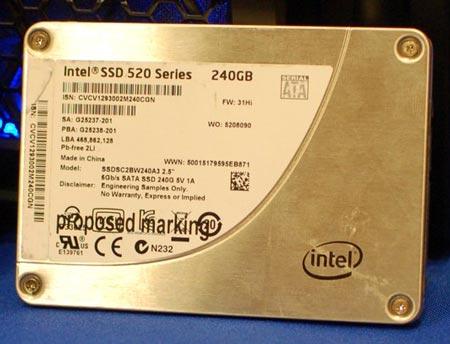 Фото дня: SSD Intel серии 520