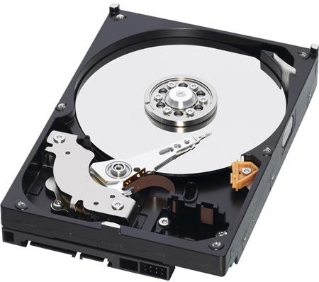 WD использует в жестких дисках Caviar Green WD10EZRX объемом 1 ТБ одну пластину