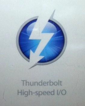 Логотип Thunderbolt, выполненный в актуальном для Apple стиле