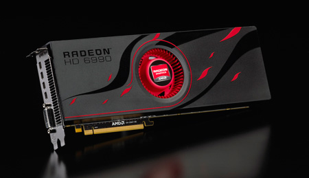 3D-карта AMD Radeon HD 6990