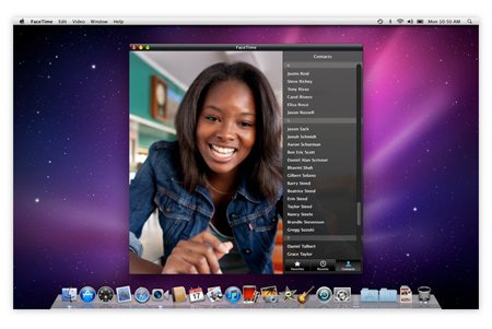FaceTime for Mac OS X 1.0
