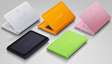 Новые Sony VAIO C, как и прежде, характеризуются широкой цветовой гаммой