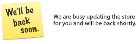 Apple Store временно не работает