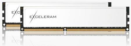 двухканальный набор модулей Exceleram Black&White DDR3-1600