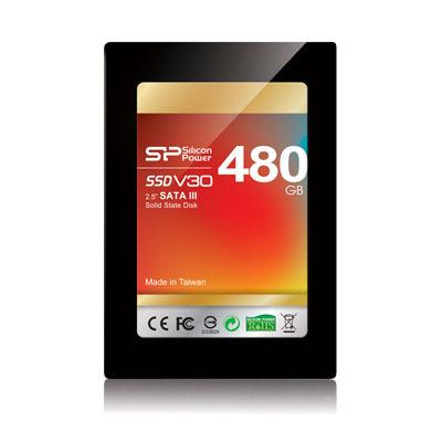 Твердотельный накопитель SP/Silicon Power Velox Series V30 объемом 480 ГБ