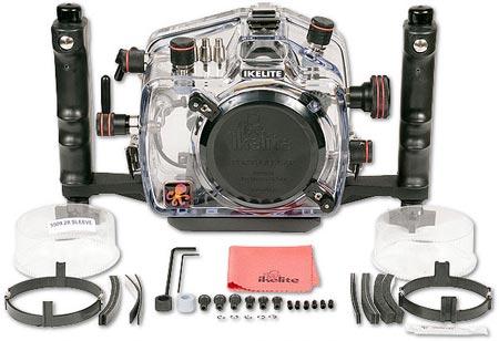 подводный бокс Ikelite для камеры Nikon D5100 — комплектация